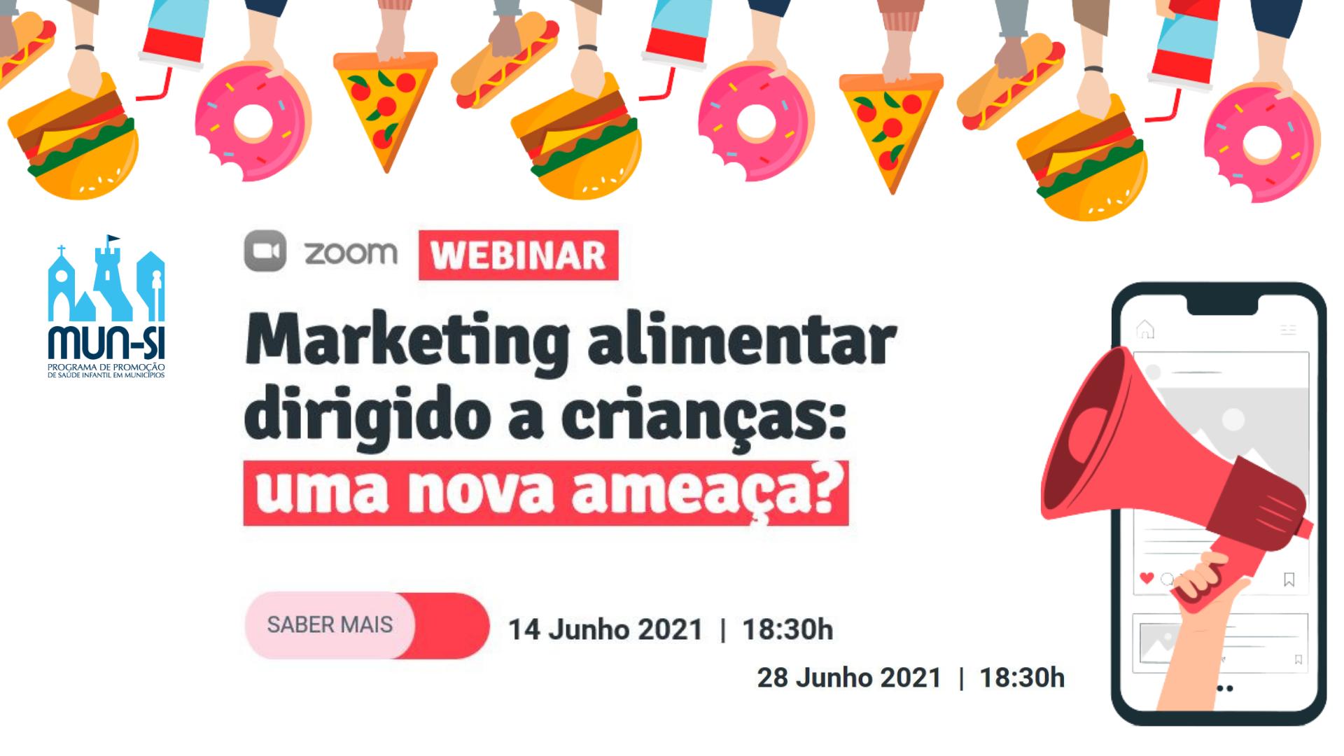 Webinar Marketing Alimentar