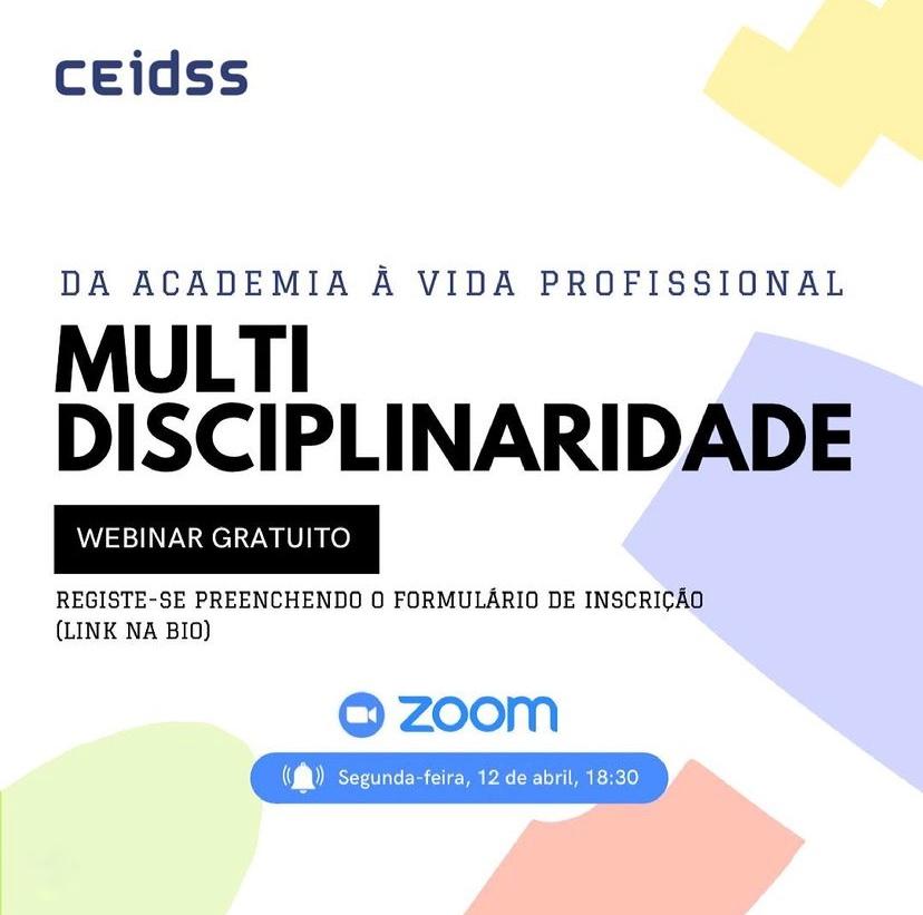 webinar multidisciplinaridade